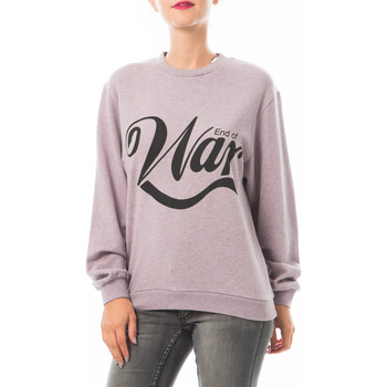 Vêtements Femme T-shirts manches courtes Cheap Monday Sweat Shaw  Violet Violet