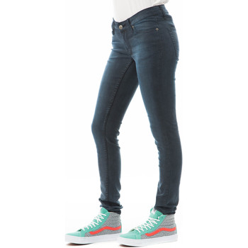 Vêtements Femme Jeans slim Cheap Monday Jeans Slim Skinny Gris Bleu Gris