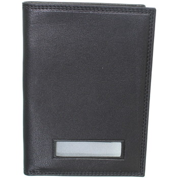 Sacs Portefeuilles Francinel Porte-passeport  en cuir ref_lhc-42538-noir Noir