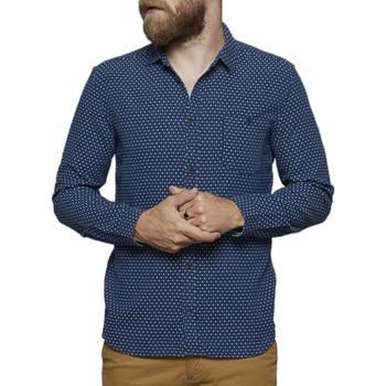 Vêtements Homme Chemises manches longues Suit DEXTER Bleu