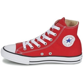 Chaussures Fille Baskets montantes Converse CANVASCORE rouge