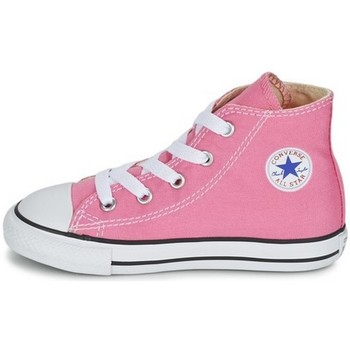 Chaussures Fille Baskets montantes Converse CANVASCORE rose