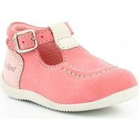 Chaussures Fille Ballerines / babies Kickers BONBEK rose