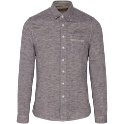 Vêtements Homme Chemises manches longues Pearly King BUCK Gris
