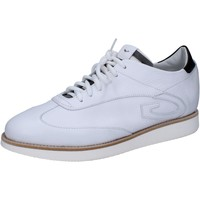 Chaussures Homme Baskets basses Guardiani chaussures homme GUARDIANI élégantes blanc cuir AB769 blanc