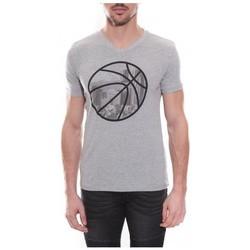 Vêtements Homme T-shirts & Polos Ritchie T-shirt col V en coton NADOT Gris