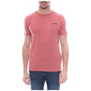 Vêtements Homme T-shirts & Polos Ritchie T-shirt col rond NALDO Rouge