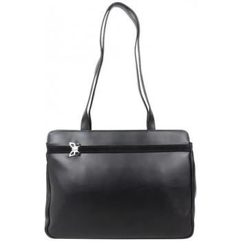 Cabas A découvrir ! sac shopping cuir déco papillon bamboo