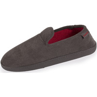 Chaussures Homme Chaussons Isotoner Chaussons charentaises homme classiques gris