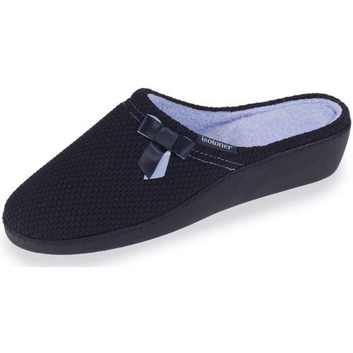 Chaussons mules talon femme n?ud satin  Taille : 37 - FR