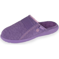 Chaussures Femme Chaussons Isotoner Chaussons mules femme ultra légers violet