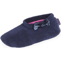 Chaussures Femme Chaussons Isotoner Chaussons bottillons femme marine