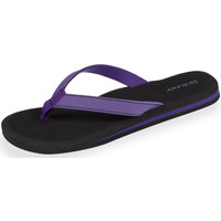 Chaussures Femme Tongs Isotoner Tongs femme Yoga violet