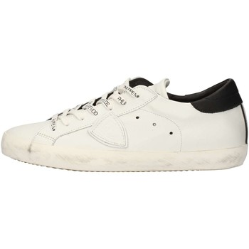 Chaussures Homme Baskets basses Philippe Model Paris CLLUV003 Sneakers Homme Blanc Blanc