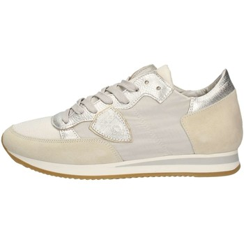 Chaussures Femme Baskets basses Philippe Model Paris TRLDW003 Sneakers Femme Blanc Blanc