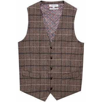 Vêtements Homme Gilets de costume Pearly King ANTHEM Marron