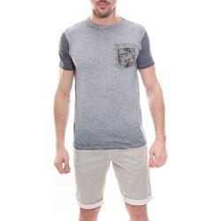 Vêtements Homme T-shirts manches courtes Ritchie T-shirt col rond en coton NANKO Gris