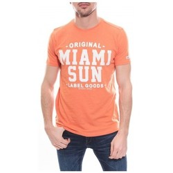 Vêtements Homme T-shirts manches courtes Ritchie T-shirt col rond en coton NANOOK Orange