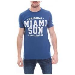 Vêtements Homme T-shirts manches courtes Ritchie T-shirt col rond en coton NANOOK Royal