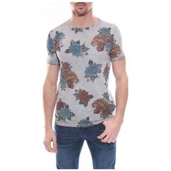 Vêtements Homme T-shirts manches courtes Ritchie T-shirt col rond en coton NATILE Gris