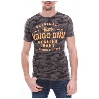 Vêtements Homme T-shirts manches courtes Ritchie T-shirt col rond en coton NEDA Gris