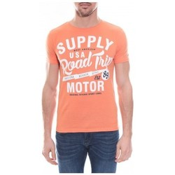 Vêtements Homme T-shirts manches courtes Ritchie T-shirt col rond en coton NELSON Orange