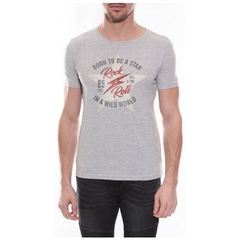 Vêtements Homme T-shirts manches courtes Ritchie T-shirt col rond NESMY Gris