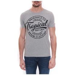 Vêtements Homme T-shirts manches courtes Ritchie T-shirt col rond NEVILLE Gris