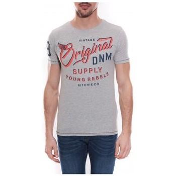Vêtements Homme T-shirts manches courtes Ritchie T-shirt col rond en coton NEWTON Gris