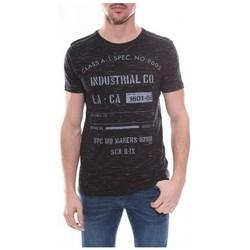 Vêtements Homme T-shirts manches courtes Ritchie T-shirt col rond NOUGAT Noir