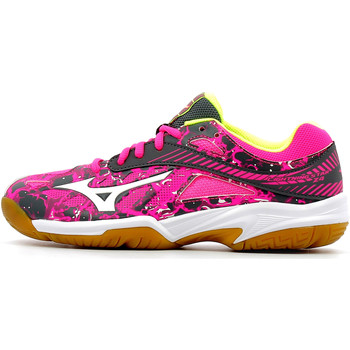 Chaussures Enfant Sport Indoor Mizuno Wave Lightning Star Z4 Junior Pink Glo / White / Iron Gate