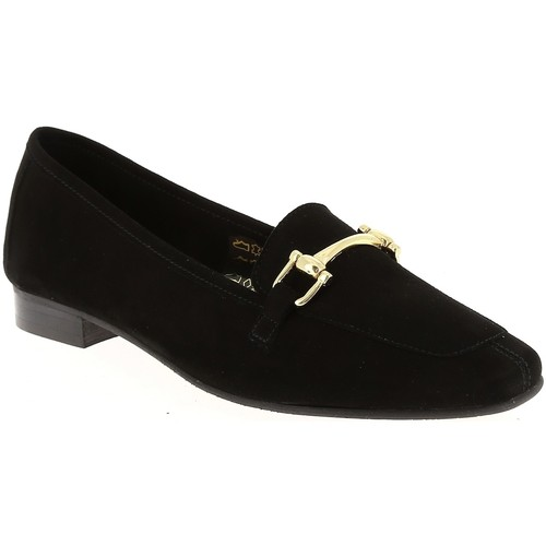 We Do 11029X Noir - Chaussures Mocassins Femme