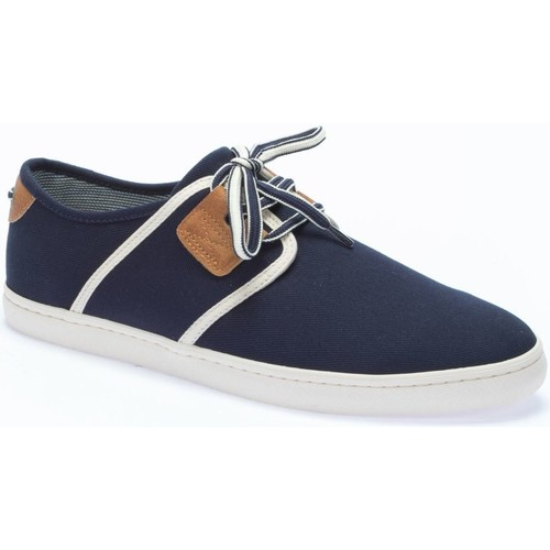 Armistice BASKET DRONE ONE CANVAS BLEU MARINE - Chaussures Baskets basses Homme