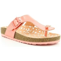 Chaussures Fille Tongs Kickers MAGNESTOR IMPR Rose