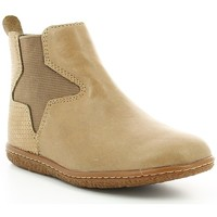 Chaussures Fille Bottines Kickers VERMILLON Beige