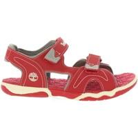 Chaussures Enfant Sandales et Nu-pieds Timberland A1QEV ADVENTURE Rojo
