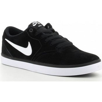 Chaussures Homme Baskets basses Nike SB CHECK 843895 Noir