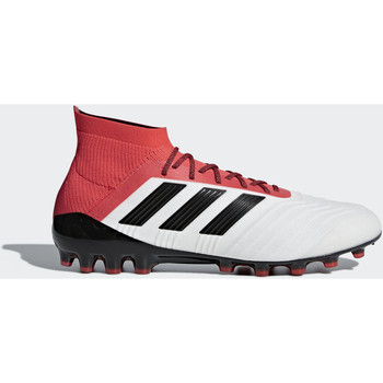 Chaussures Homme Football adidas Performance Chaussure Predator 18.1 Artificial Grass Blanc / Noir