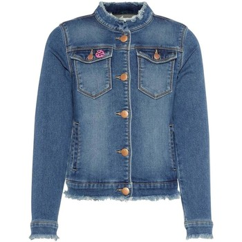 Vêtements Fille Vestes en jean Name It Kids NKFADEA SWE DNM 2026 JACKET Bleu