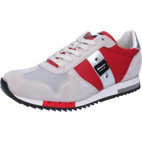 Chaussures Homme Baskets basses Blauer chaussures homme  sneakers rouge textile daim AB822 rouge