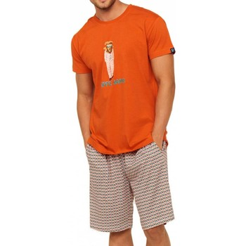 Vêtements Homme Pyjamas / Chemises de nuit Arthur - pyjama court ORANGE
