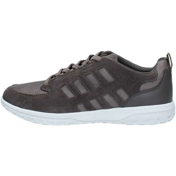 Chaussures Homme Baskets basses Geox U824AA2214 Basket Homme Charcoal Charcoal