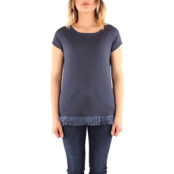 Vêtements Femme T-shirts manches courtes In Bed Whit You BB16 Pull Femme blue blue