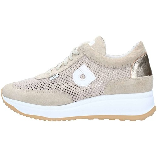 Agile By Ruco Line 1304 Sneakers Femme Beige Beige - Chaussures Baskets basses Femme