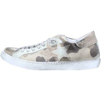 Chaussures Homme Baskets basses 2 Stars 2S1855 Basket Homme Camouflage / Taupe Camouflage / Taupe