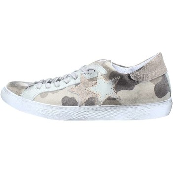 Chaussures 2 stars 2s1855 basket homme camouflage / taupe