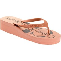 Chaussures Femme Tongs Calvin Klein Jeans re9734 rose