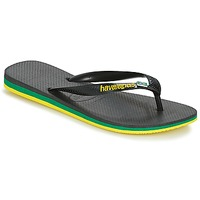 Chaussures Homme Tongs Havaianas Brasil Layers Noir
