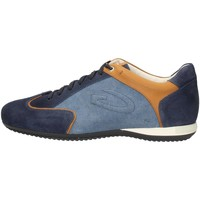 Alberto Guardiani SU76342D Sneakers Homme Bleu Bleu - Chaussures Baskets basses Homme