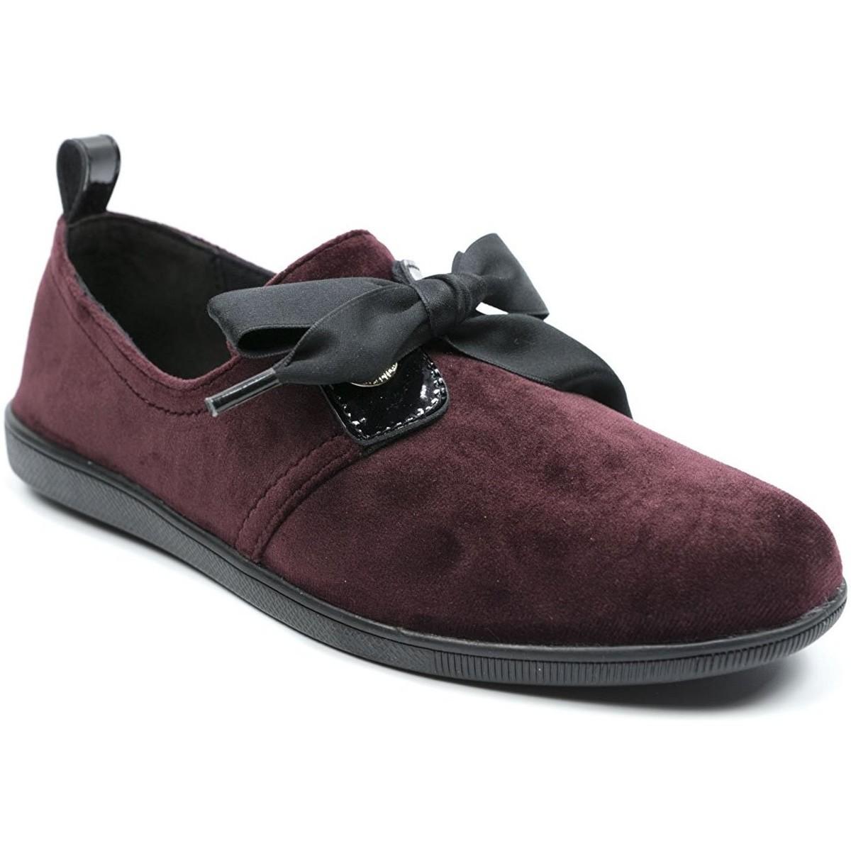 Armistice STONE ONE W Bordeaux - Chaussures Mocassins Femme